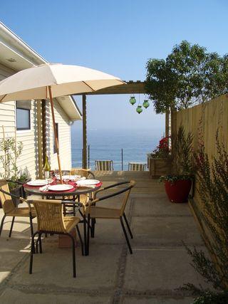 Miramar patio & ocean view